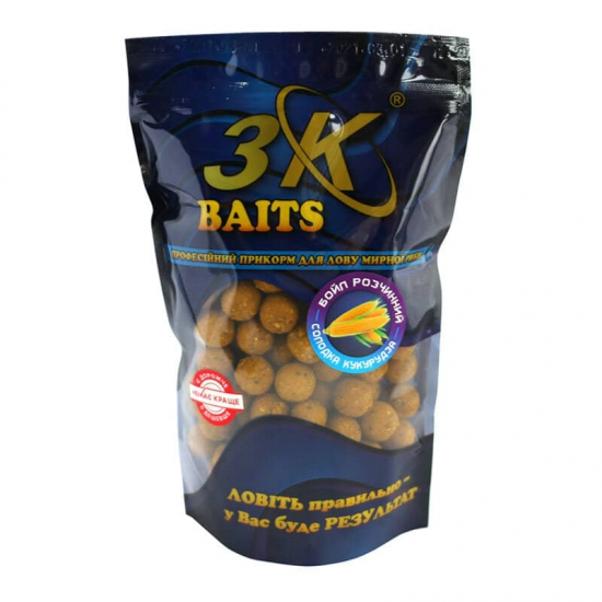 Бойл розчинний пилящий 16мм (солодка кукурудза) 0,4 кг