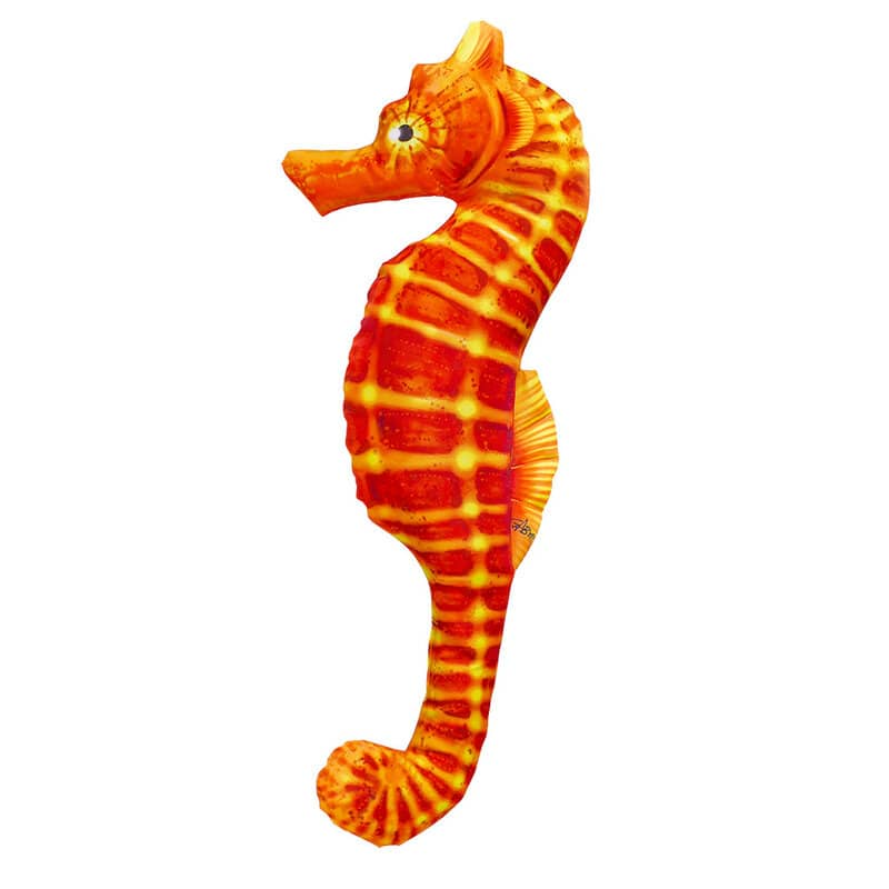 "Подушка-iграшка ""Морський коник оранжевий""  (60*25см)"