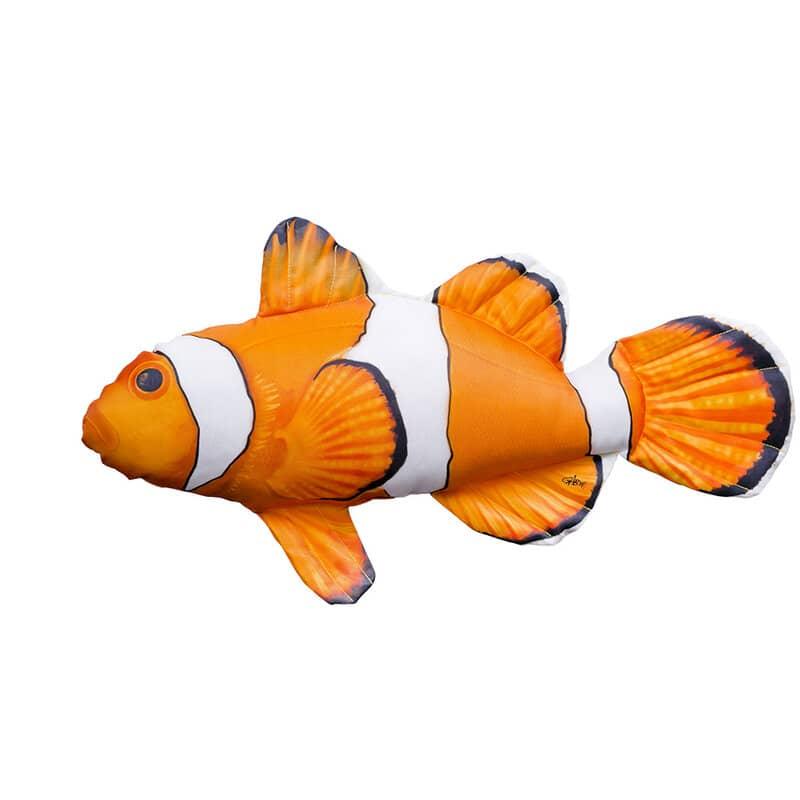 """Подушка-iграшка """"Риба-клоун""""  (56*25см)"""
