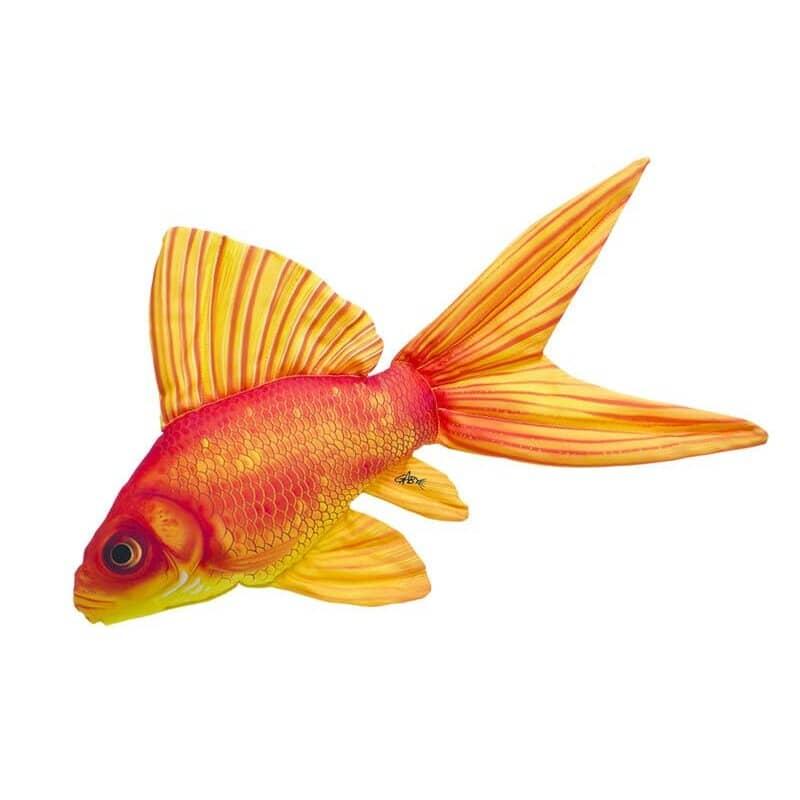 """Подушка-iграшка """"Золота рибка""""  (50*30см)"""