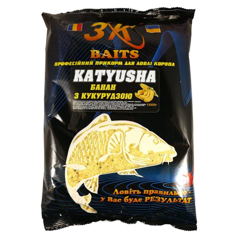 "Суха суміш ""KATYUSHA"" (кукурудза з бананом), 1000г"