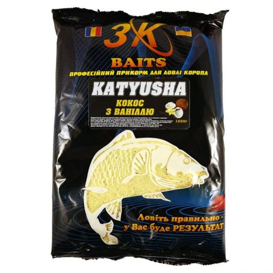 """Суха суміш """"KATYUSHA"""" (кокос-ваніль), 1000г"""