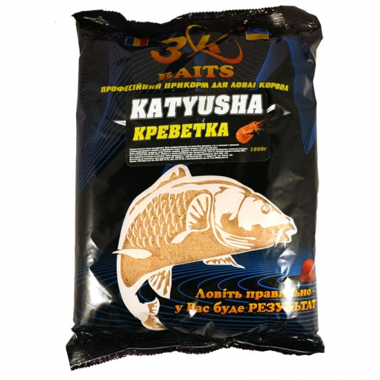 "Суха суміш ""KATYUSHA"" (креветка), 1000г"