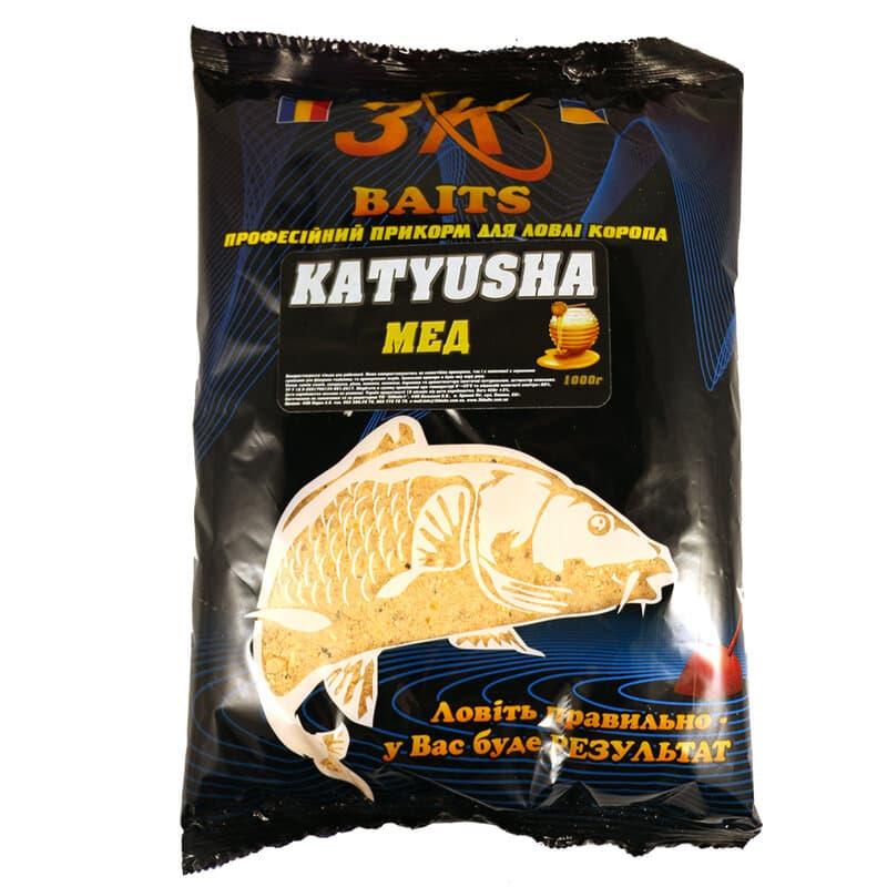 """Суха суміш """"KATYUSHA"""" (мед), 1000г"""