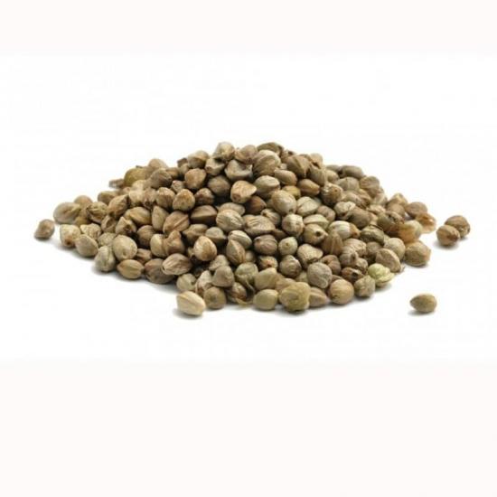 Зерна коноплі сухі , 500г
