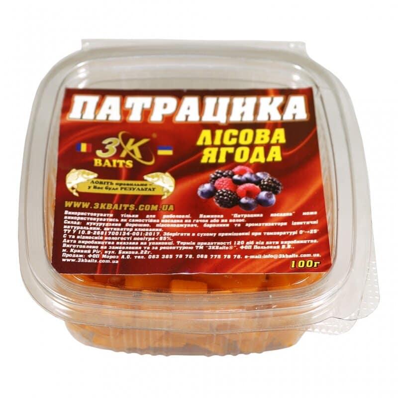 Патрацика насадна (лісова ягода), 100г