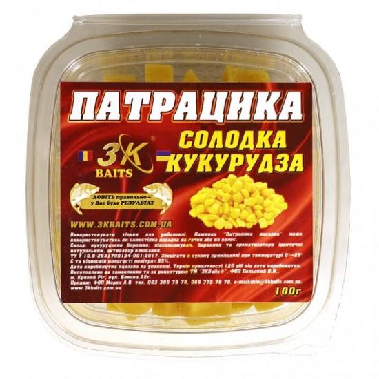Патрацика насадна (солодка кукурудза), 100г