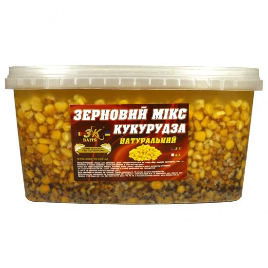 Зерновий МІКС КУКУРУДЗА (натуральний), 3л