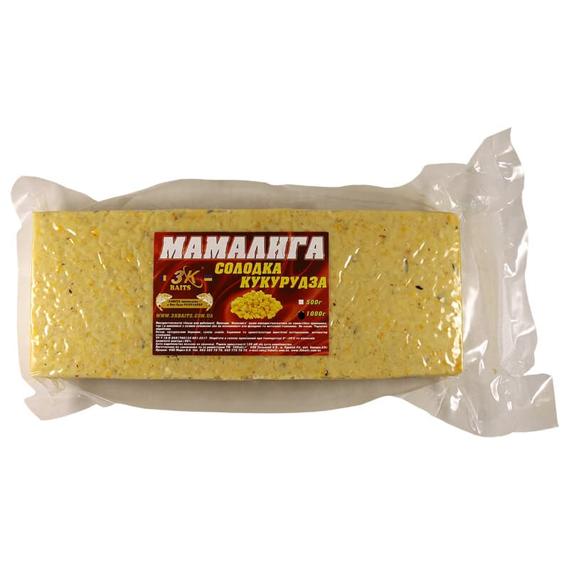 Мамалига універсальна (солодка кукурудза), 1000г