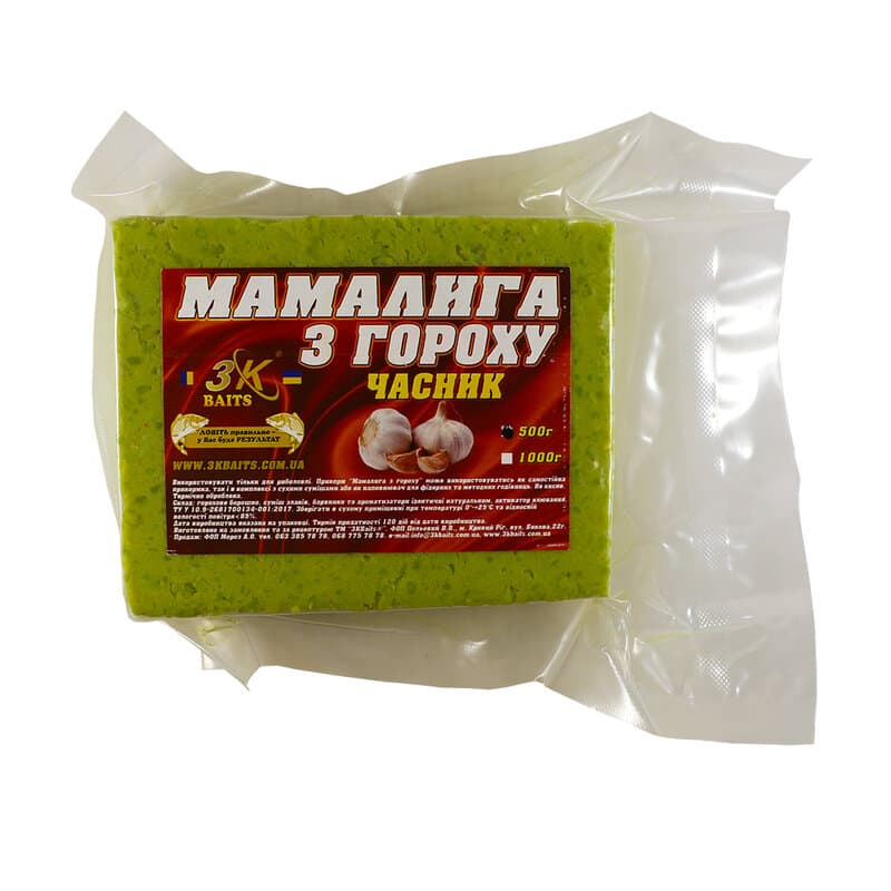 Мамалига з гороху (часник), 500г