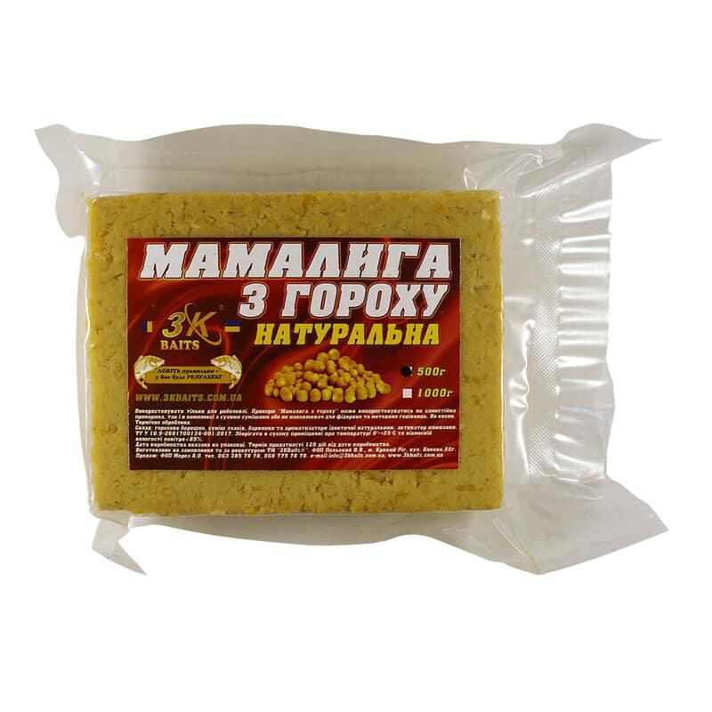 Мамалига з гороху (натуральна), 500г