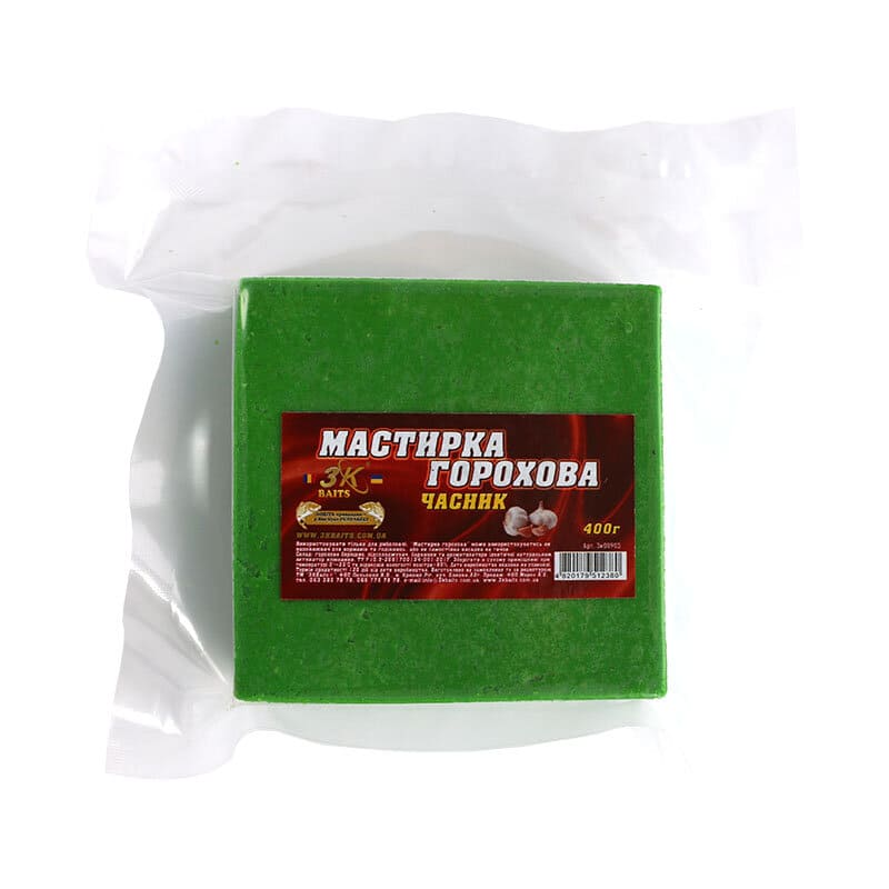 Мастирка горохова (часник), 400г